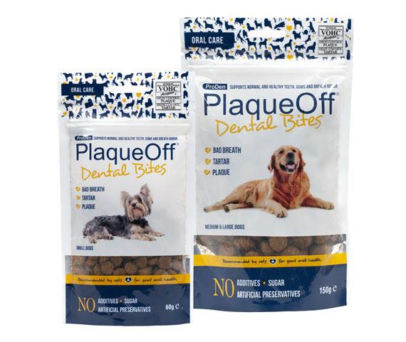 ProDen PlaqueOff® Dental Bites – hond
